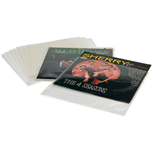 4 mil Archival Polyester LP Record Sleeves (10-Pack)