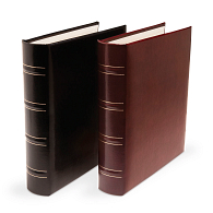 "Print File® 1 1/4"" O-Ring Gallery Leather Compact Album"