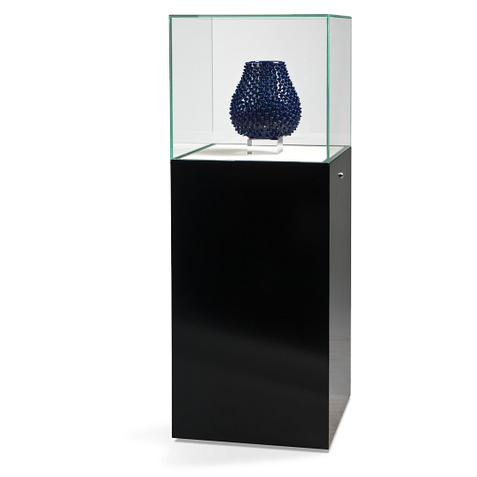 Gaylord® Curator™ Podium Museum Case with Cabinet Base