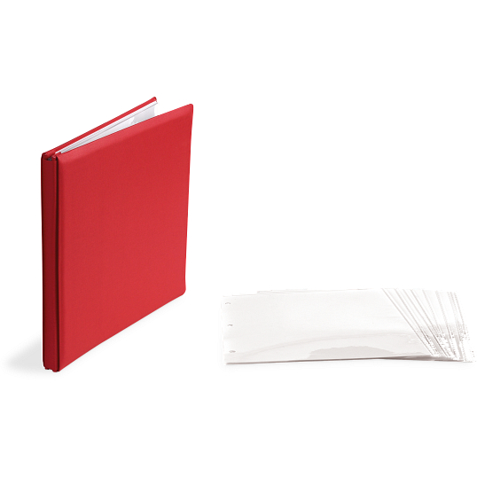 Pioneer® Post-Bound Fabric Memory Scrapbook