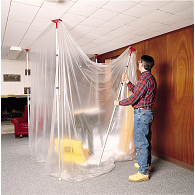 ZipWall® Dust Barrier 20 ft. Pole Set