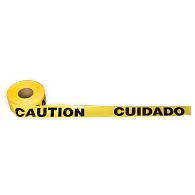 CAUTION CUIDADO Barrier Tape