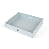 Gaylord Archival® B-flute Tray for Record Storage Cartons