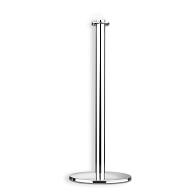 Lawrence Contemporary Metal Theater Post with Flat Base