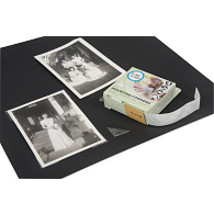 "Gaylord Archival® 3/4"" Clear Self-Adhesive Polypropylene Photo Corners (250-Pack)"
