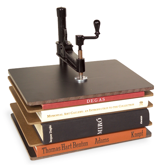 Gaylord® Bookcraft® Steel & Masonite Large Book Press