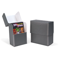 Gaylord® Blue/Grey Barrier Board Flip-Top Archival Pamphlet Box