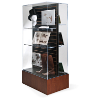 Gaylord Archival® Keynote Island Exhibit Case with UV Acrylic