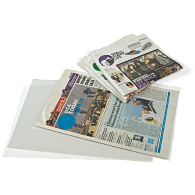 Gaylord® 3 mil Archival Polyester Newspaper Sleeves (5-Pack)