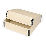 Gaylord® Tan Barrier Board Deep Lid Archival Print Box