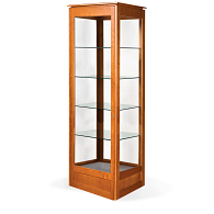 Gaylord® Sedgwick™ Full Tower Exhibit Case