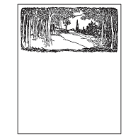 Gaylord® Removable Border Design Archival Bookplates (50-Pack)