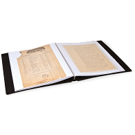 Pioneer® Oversize Post-Bound Fabric Memory Scrapbook