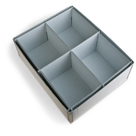 Gaylord Archival® 4-Compartment Artifact Tray