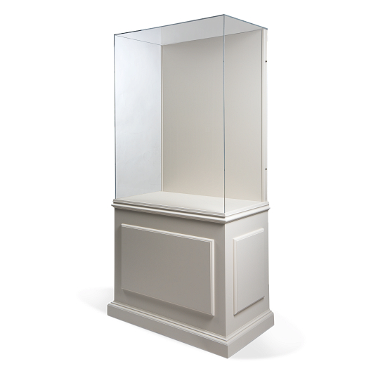 Gaylord Archival® Splendor™ Triumph Painted Freestanding Wall Exhibit Case