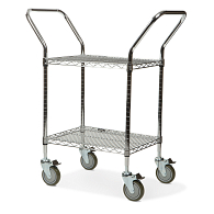 Heavy-Duty Wire Utility Cart