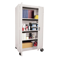 "Sandusky-Lee 66""H Mobile Storage Cabinet"