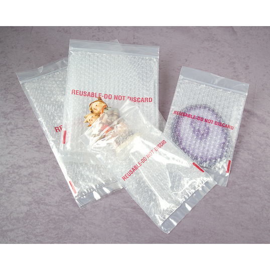 Zip-Top Bubble Bags (25-Pack)