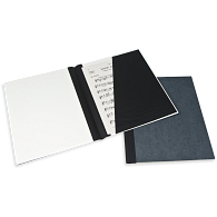 "Gaylord® Classic™ 1/4"" Double Cloth Spine Sew or Staple Music Binder with Diagonal Pocket"