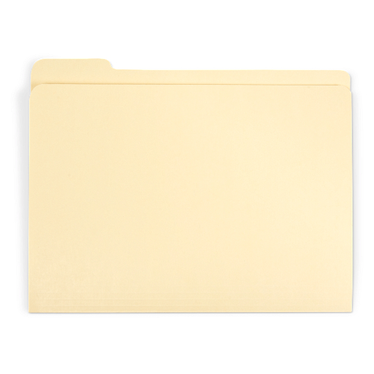 Gaylord Archival® Reinforced Fifth-Cut Tab Legal Size File Folders (100-Pack)