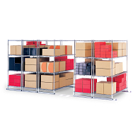 X5 Storage Solutions Steel Sliding Storage System
