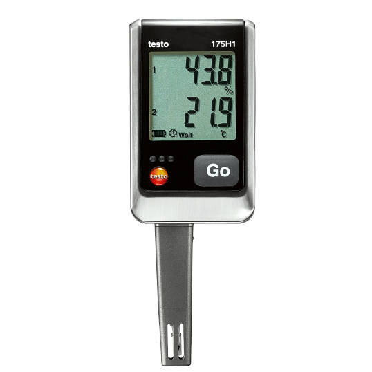Testo High-Stability Temperature & Humidity Logger