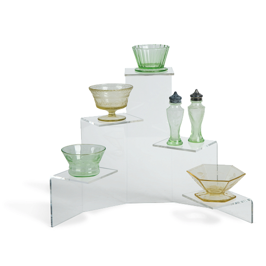 Jule-Art Acrylic 5-Tiered Platform Display Riser