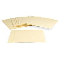 "Gaylord Archival® 10 pt. Folder Stock 10"" LP Record Envelopes (25-Pack)"