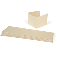 Gaylord Archival® Light Tan B-flute Spacers for Postcard Boxes (5-Pack)