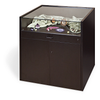 Gaylord Archival® Salina™ Glass-Top Retail Display Cabinet