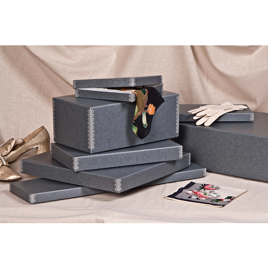 Gaylord Archival® Blue/Grey Barrier Board Women's Glove Box