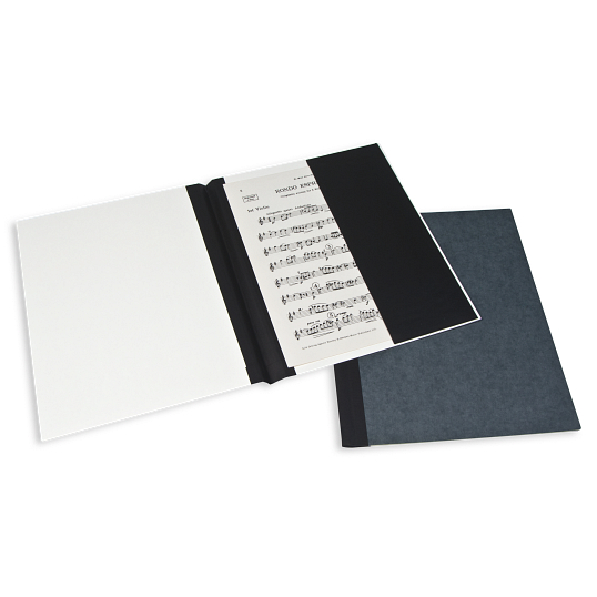 "Gaylord Archival® Classic™ 1/4"" Double Cloth Spine Sew or Staple Music Binder with Straight Pocket"