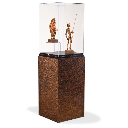 Gaylord Archival® Jewell™ Laminate Pedestal Exhibit Case