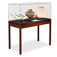 "Gaylord Archival® Crystal Cubes™ 44""W Exhibit Case"
