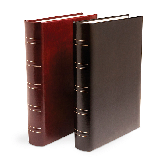 "Print File® 1 1/4"" O-Ring Gallery Leather Narrow Album"