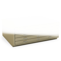 "2 3/4"" Base for Extra-Large Horizontal Flat Files"