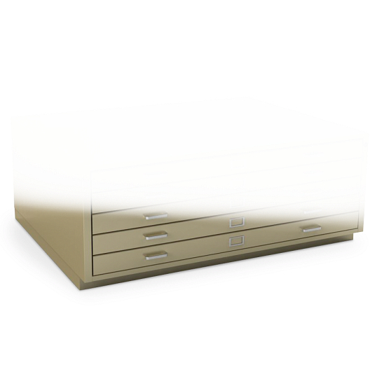 "2 3/4"" Base for Gaylord Archival® Extra-Large Horizontal Flat Files"