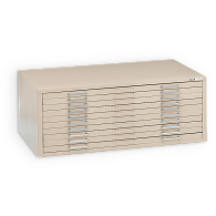 "Mayline C-Files® Horizontal 10-Drawer Flat File for 24 x 36"" Sheets"