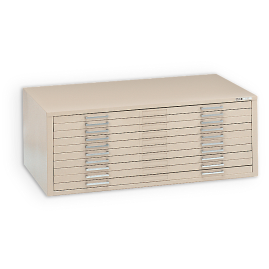 "Mayline C-Files® Horizontal 10-Drawer Flat File for 36 x 48"" Sheets"