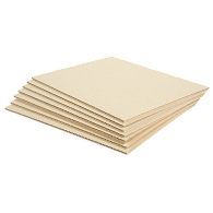 Gaylord Archival® Light Tan B-Flute Corrugated Board (10-Pack)