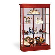 Waddell Varsity Exhibit Case with Fabric Back & Sliding Door