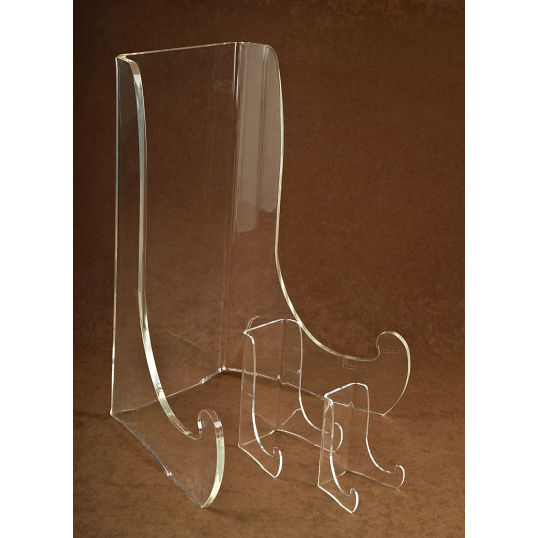 Jule-Art Double Bend Acrylic Bowl Display Easel