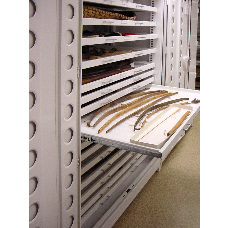 Borroughs Full Width Drawer for Shallow Depth Museum Cabinet  #926B39