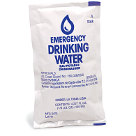 Emergency Drinking Water Pouches (64-Pack)