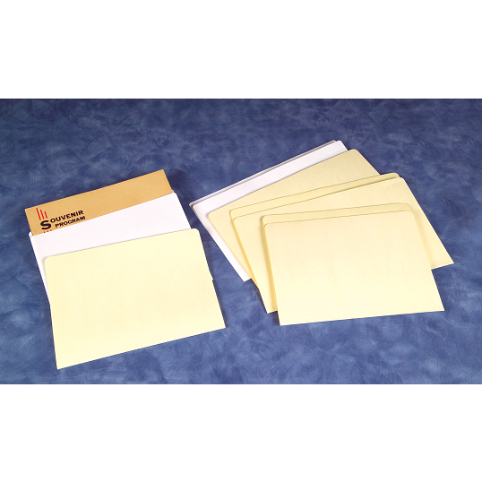 Gaylord Archival® 20 lb. Permalife Bond Letter Size File Folder Inserts (100-Pack)