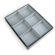 Gaylord Archival® 6-Compartment Archival Artifact Tray