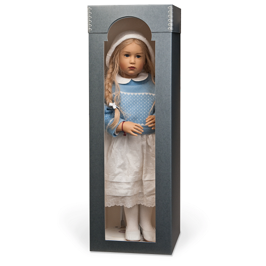 "Gaylord Archival® 18"" Designer Doll Box with Arched Window"