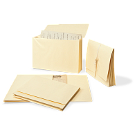 "Gaylord® Expanding Legal Size File Folders with 1 1/2"" Gussets (5-Pack)"