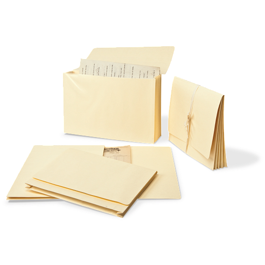 "Gaylord® Expanding Letter Size File Folders with 1 1/2"" Gussets (5-Pack)"