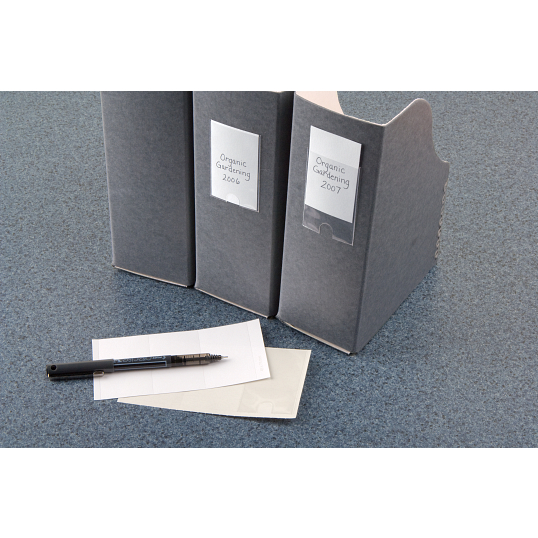 Polypropylene Label Holders (24-Pack)
